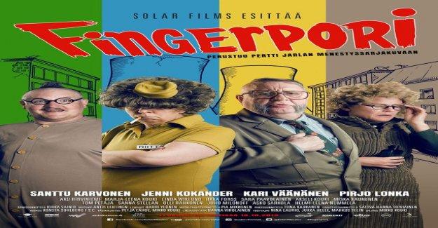 This look Jenni Kokander and Kari Väänänen finger pori-as a character in the upcoming film!