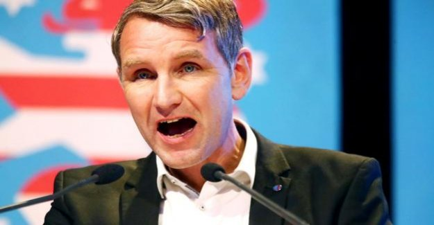 Thuringia : the Prosecutor shall initiate investigations against Björn Höcke