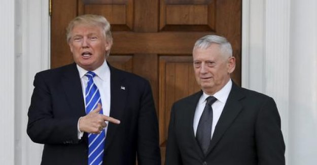 Trump exchange Mattis earlier than planned