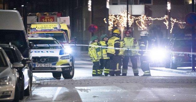 Two in custody for sprängdåd in Landskrona