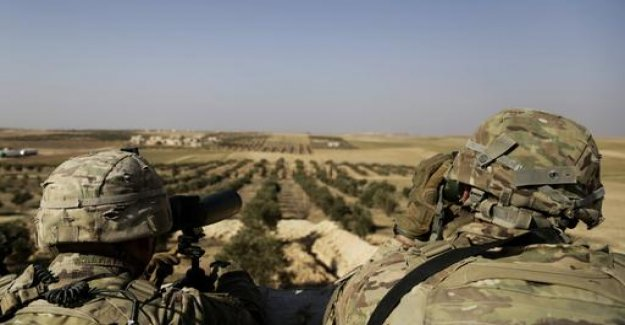US soldier in Syria: Mattis, subject to the deduction command writes