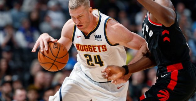 VIDEO. Denver wins the top match against Toronto and for the first time since 1984, the NBA-primus