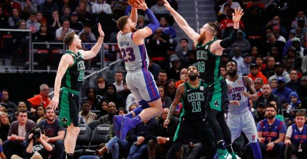 VIDEO. Detroit Pistons makes end to NBA-chain of victories Boston Celtics