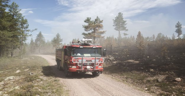 Vägskador for the six million after the fires
