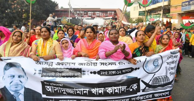 Violence and fuskanklagelser ahead of the elections in Bangladesh