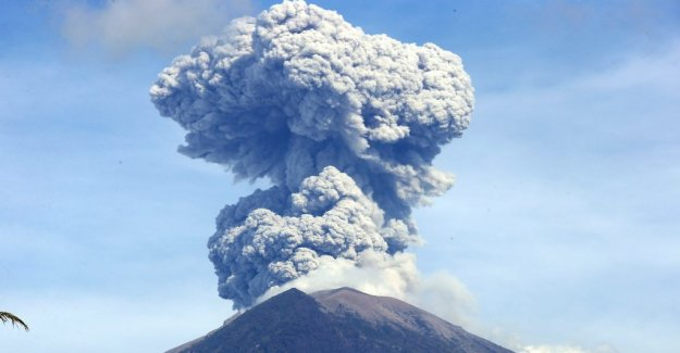 Volcanic eruption in Bali – the people are warned