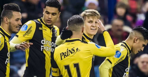 Wasting again: - Pearl from Ødegaard