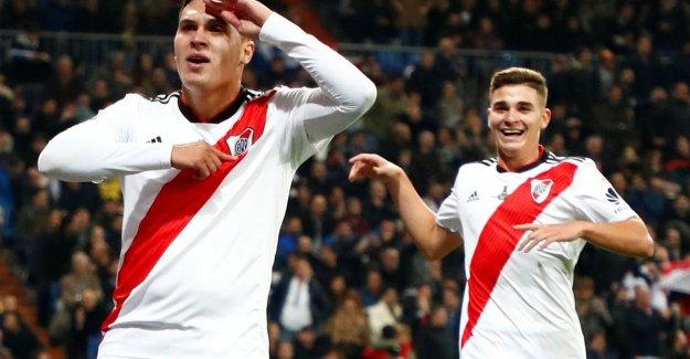 What a final: River Plate win Copa Libertadores after renewals (and gem Quintero) against arch rival Boca Juniors