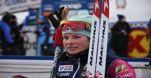 What a mystical event Krista Pärmäkoskea in Italy? The Russian came at the end by throwing over: They have found someone thing