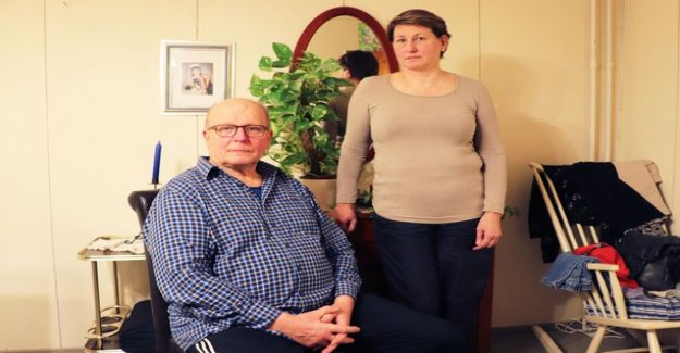 When the doorbell rang, Ismo Harjula does not understand what happened - so the brain from degenerative memory disease alzheimer's affect