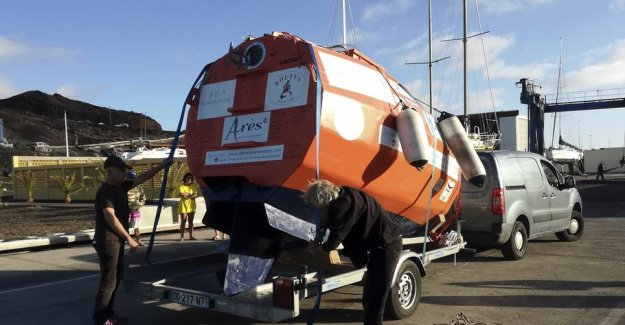 Wild mission: Will cross the Atlantic ocean in the barrel without motor