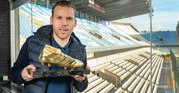 Yesterday he won the match for Club Brugge, today is Ruud Shaper with real Gold Shoe the holidays: Difficult year