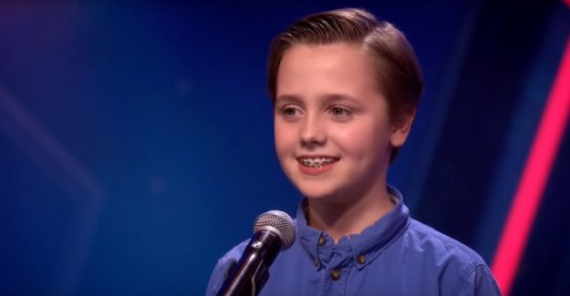 11-year-old boy making heads turn with opera in Holland's Got Talent'