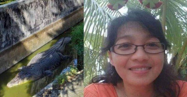 44-year-old woman eaten by five-metre-long crocodile