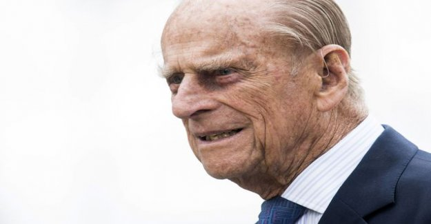 97-year-old prince Philip drove to the accident - were helped out of the car: He was shaking and was in shock