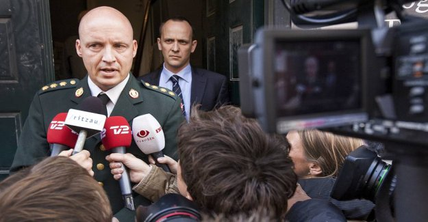 A commander accused of gross dereliction of duty