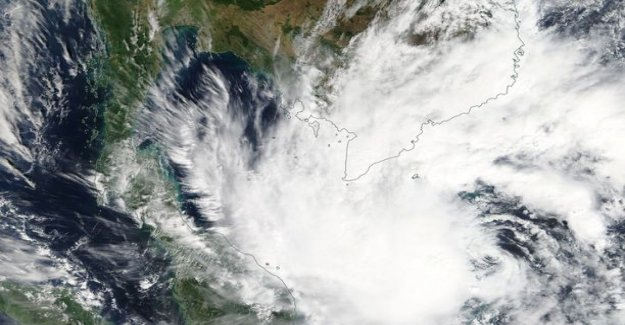 A meteorologist to tell you: This is thai country jumps to pabu k-storm