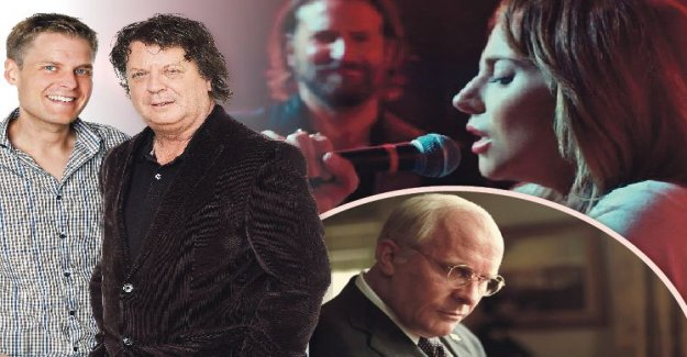 A star is born can become the king of the Golden Globe-galan