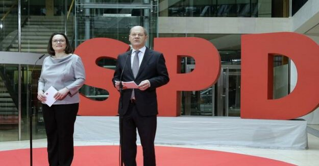 According to Scholz-Interview : SPD leadership warns of Chancellor candidates debate