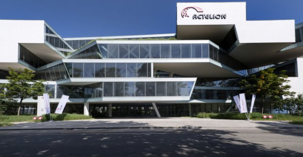 Actelion has in Allschwil up to 75 Points