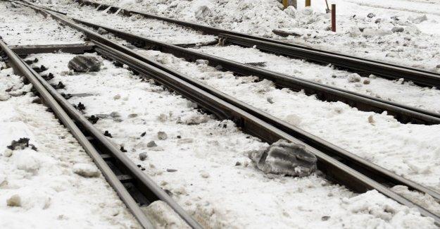 Acute rälsbyte stops train service
