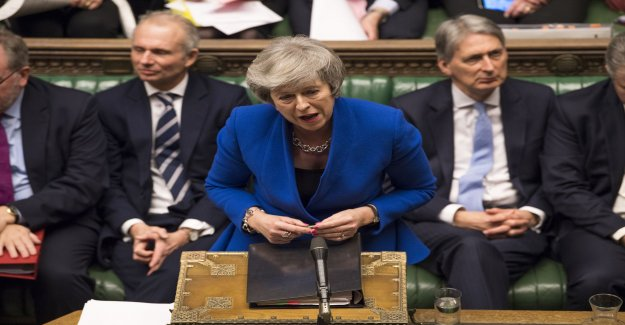 After brexitförlusten – charged vote on Theresa May