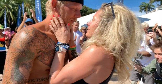 After seven weeks of separation: Watch the touching reunion