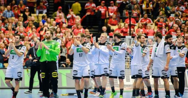 After the home-world Cup : So it goes for the handball team more