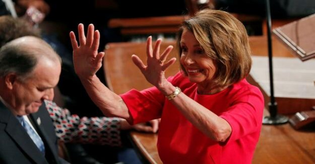 Against a player of Donald Trump : Pelosi again Chairman of the US house of representatives