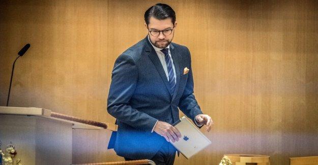 Åkesson justify kappvändningen in the EU-the question