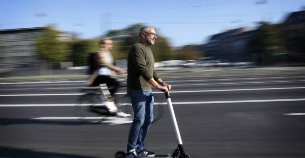 Allowed from today: Now you can run on electric scooters and segboards