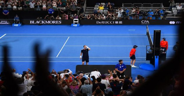 Andy Murray twist valiantly for more than four hours - was a huge career in it? - Leave the fields for all