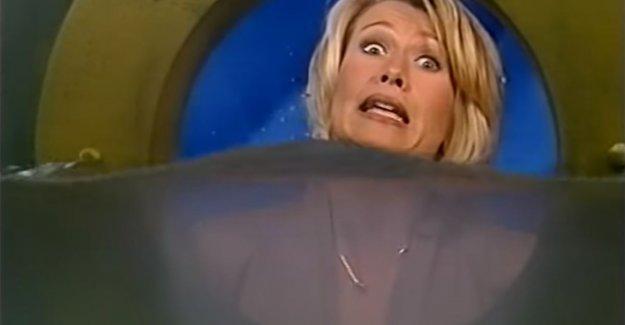 Anne De Baetzelier made for a hefty geut drama when she 'Titanic' announced