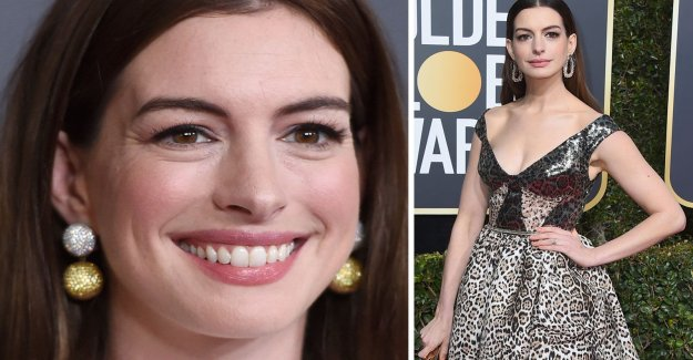 Anne Hathaway hits back after klädhånet at the gala