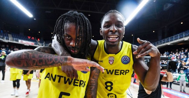 Antwerp Giants consolidate fourth place in the Champions League with victory against Czech Nymburk