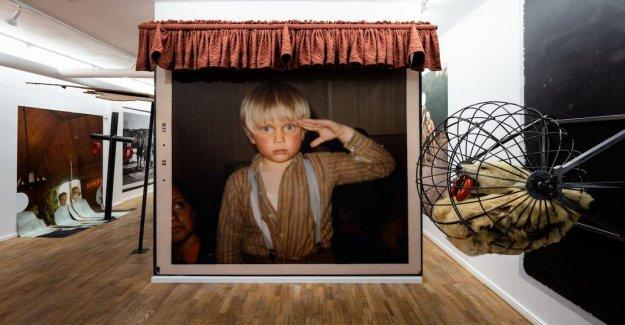 Art review: Peter Johansson's childhood faith is heartbreaking
