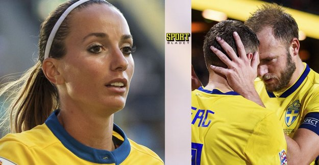 Asllani: oh my God – we play for the same country