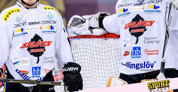 Asplöven HC is excluded from the Hockeyettan