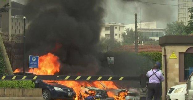 Attacks against luxury hotels and kontorkompleks in Nairobi