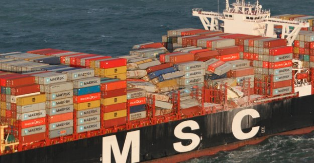 Authorities warn of stranded containers