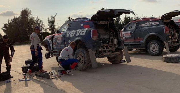 Bad day for Colsoul in Dakar: The rally is to soap and that is a sin