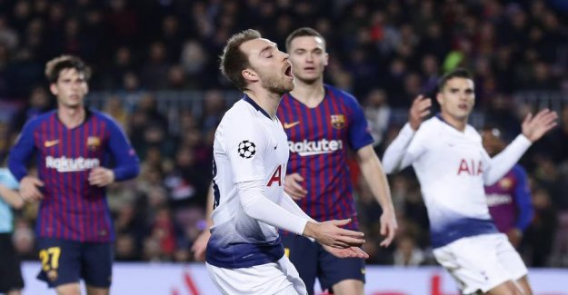 Bad news for Eriksen: Not a part of Barcelona's big transferplan