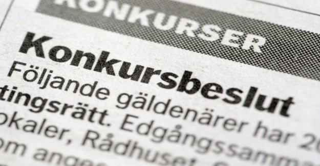 Bankruptcies are on the increase – but not in Ystad