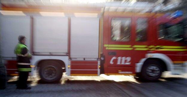 Berlin-Gesundbrunnen : fire in the Diner