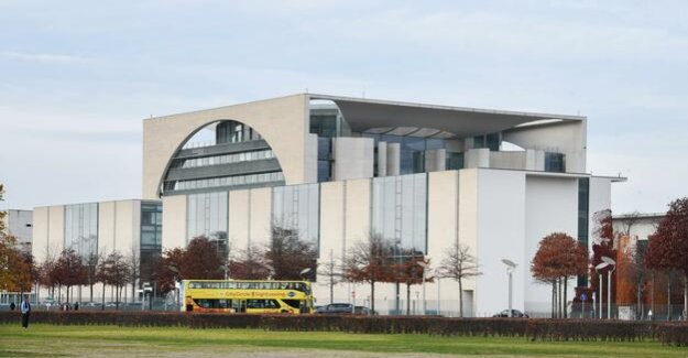 Berlin-Mitte : Bundeskanzleramt is extended