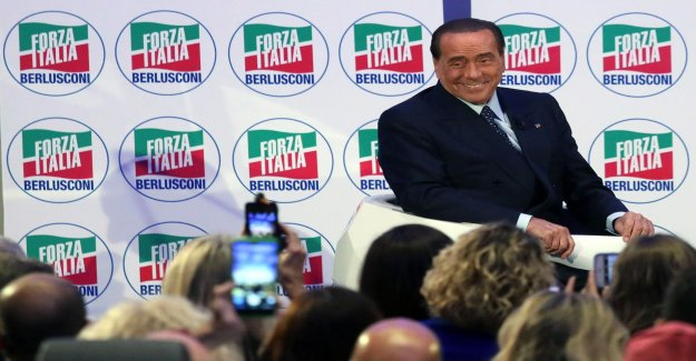 Berlusconi, set up in the EU elections