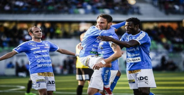 Betting league blessed the decision - RoPS meets KPV:n at night