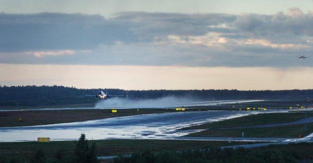 Big problems at Arlanda airport following heavy snowfall