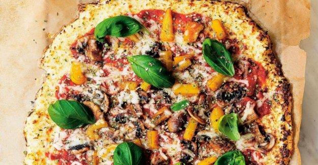 Blomkålspizza – delicious and gluten-free