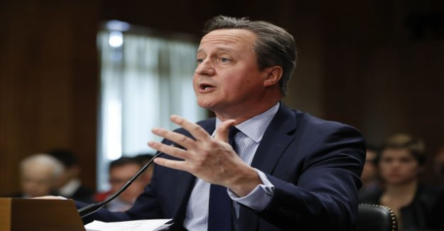 Brexit: Cameron does not regret the referendum